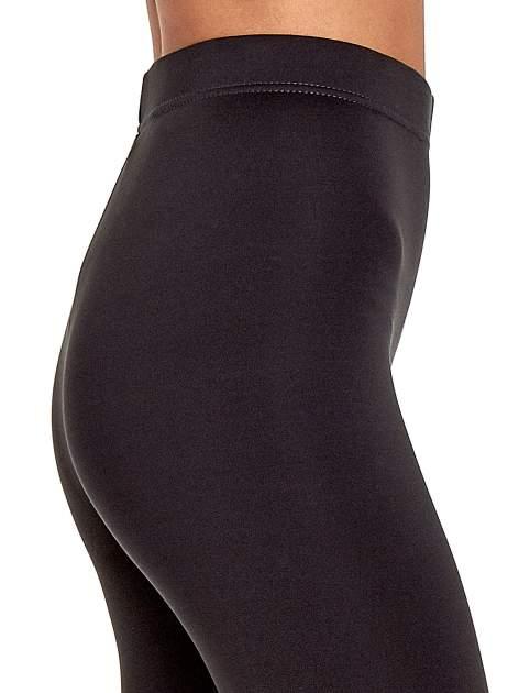 Szare legginsy basic z lekkim ociepleniem                                  zdj.                                  6