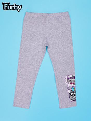 Szare legginsy dla dziewczynki FURBY