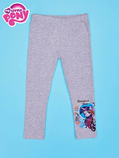 Szare legginsy dla dziewczynki MY LITTLE PONY                                  zdj.                                  1
