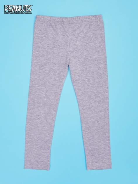 Szare legginsy dla dziewczynki SNOOPY                                  zdj.                                  2