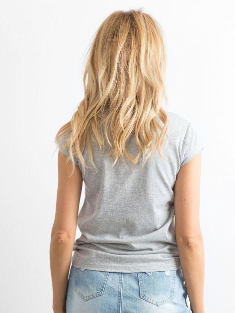 Szary t-shirt Girlgang                              zdj.                              2