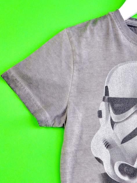 Szary t-shirt chłopięcy STAR WARS                                  zdj.                                  3