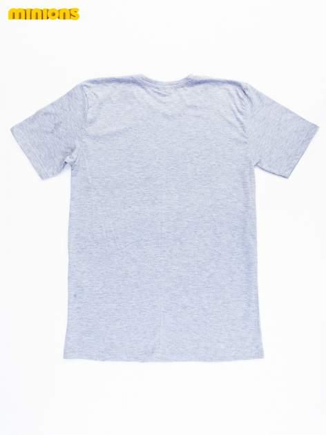 Szary t-shirt męski MINIONKI                                  zdj.                                  10
