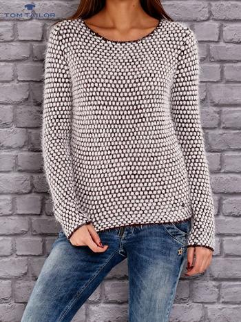 TOM TAILOR Bordowy sweter long hair                                  zdj.                                  1