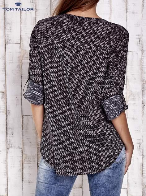 TOM TAILOR Czarna koszula w drobne wzory                                  zdj.                                  2