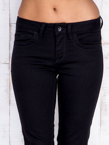 TOM TAILOR Czarne proste spodnie                                  zdj.                                  4