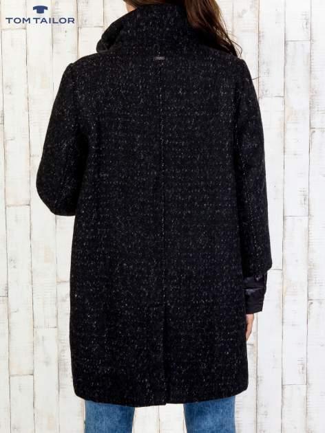 TOM TAILOR Czarny dwuczęściowy płaszcz z kurtką pikowaną                                  zdj.                                  5
