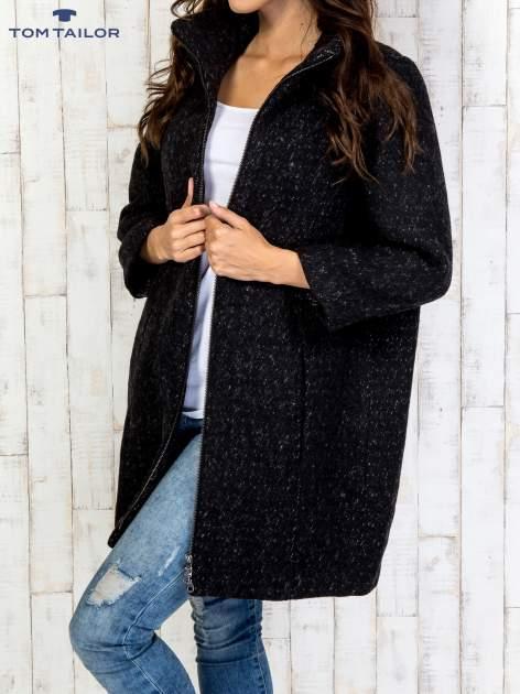 TOM TAILOR Czarny dwuczęściowy płaszcz z kurtką pikowaną                                  zdj.                                  18