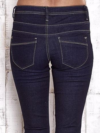 TOM TAILOR Granatowe spodnie regular jeans                                  zdj.                                  6