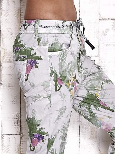 TOM TAILOR Spodnie damskie floral print                                  zdj.                                  5