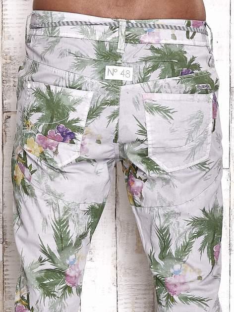 TOM TAILOR Spodnie damskie floral print                                  zdj.                                  6