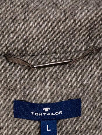 TOM TAILOR Szary dwurzędowy płaszcz                                  zdj.                                  4
