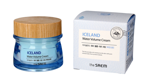 """The SAEM Iceland Water Volume Cream Krem nawilżający do twarzy - cera mieszana  80ml"""""""