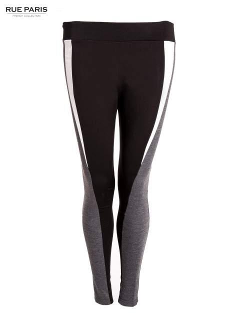 Trójkolorowe legginsy modelujące ultra slim