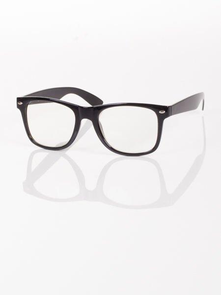 WAYFARER NERD modne okulary zerówki ,doskonały akcent twojego wizerunku !                                  zdj.                                  2