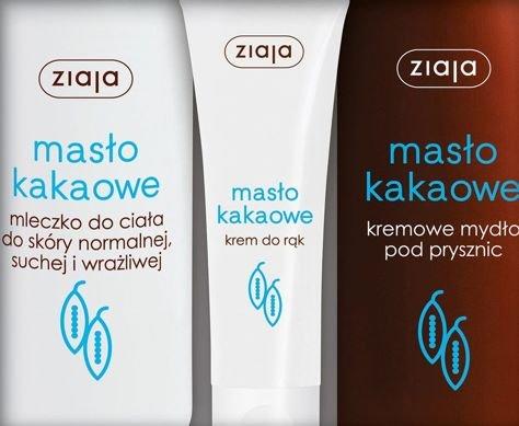 ZIAJA Zestaw MASŁO KAKAOWE Ciało 2018                              zdj.                              2