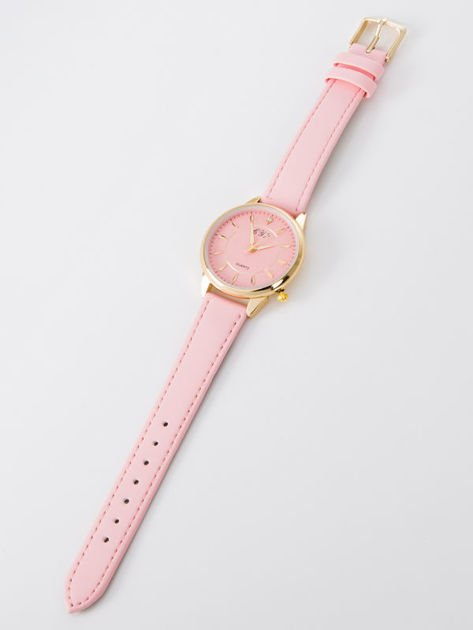 Zegarek damski jasnoróżowy                              zdj.                              3