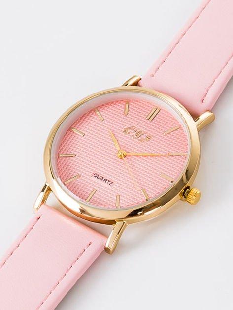 Zegarek damski jasnoróżowy                              zdj.                              2