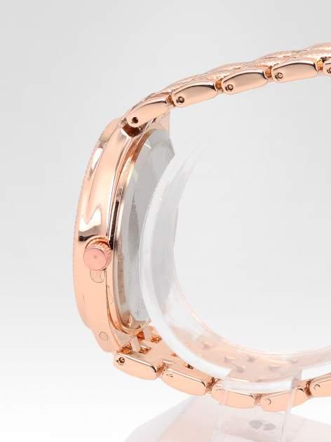 Zegarek damski na bransolecie z różowego złota                                  zdj.                                  3