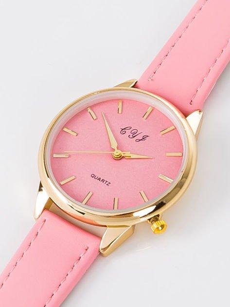 Zegarek damski różowy                              zdj.                              6