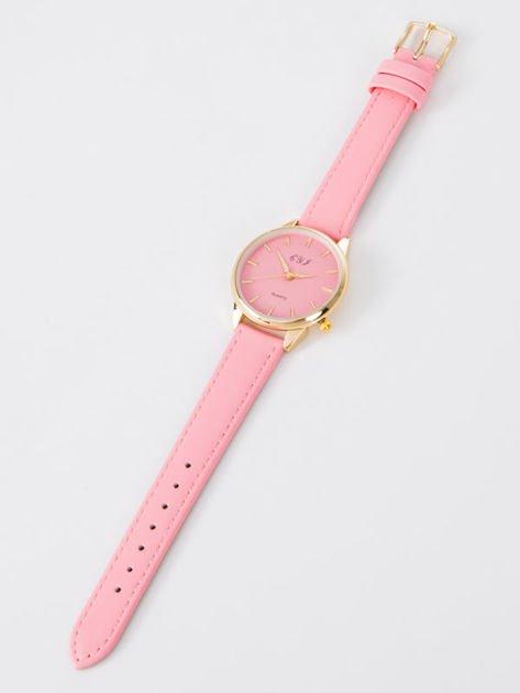 Zegarek damski różowy                                  zdj.                                  5