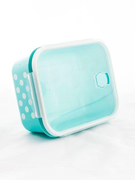 Zestaw jasnoniebieskie pojemniki do żywności 5 elementów                              zdj.                              9