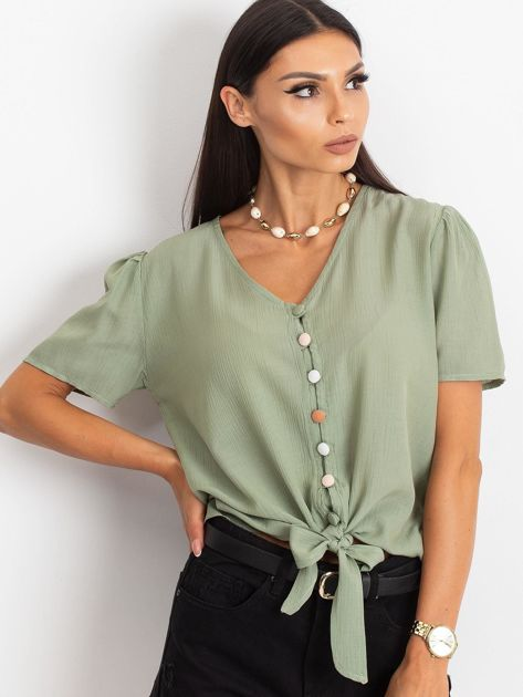 Zielona bluzka Paradise                              zdj.                              1