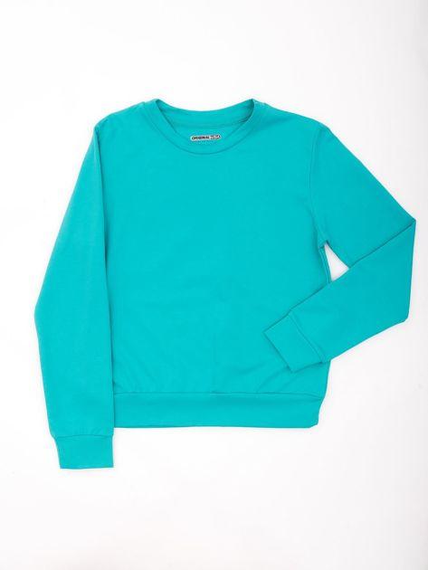 Zielona bluza młodzieżowa                              zdj.                              1