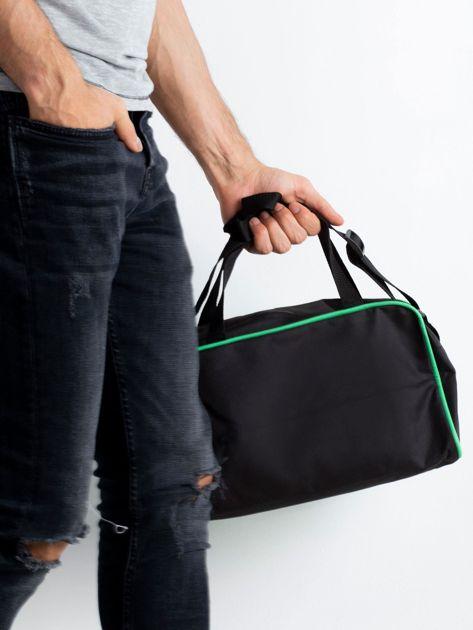 Zielona męska torba na ramię                              zdj.                              2