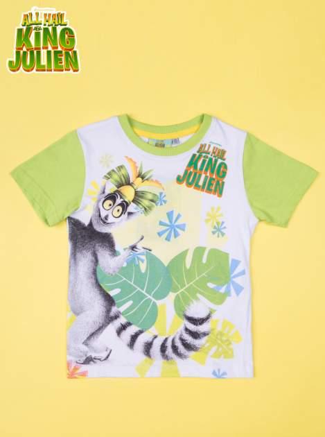 Zielona piżama chłopięca KRÓL JULIAN                                  zdj.                                  2