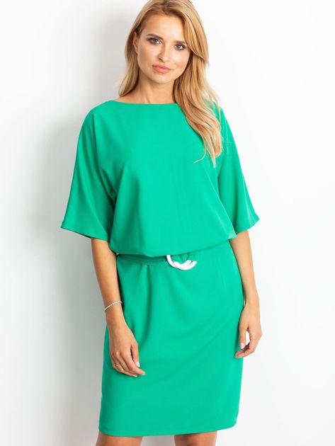 Zielona sukienka Soft                              zdj.                              1