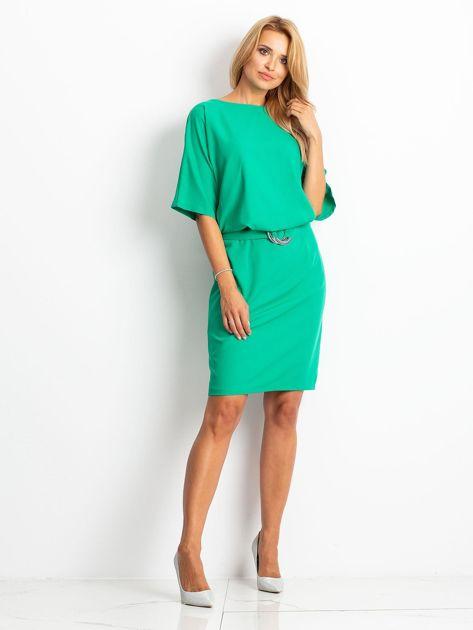 Zielona sukienka Soft                              zdj.                              4