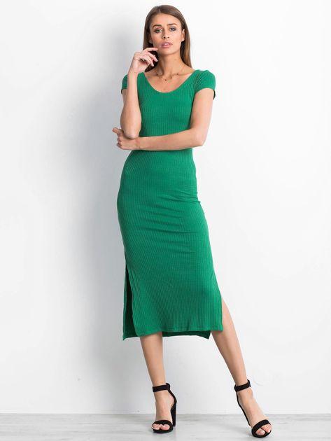 Zielona sukienka Touching                              zdj.                              1