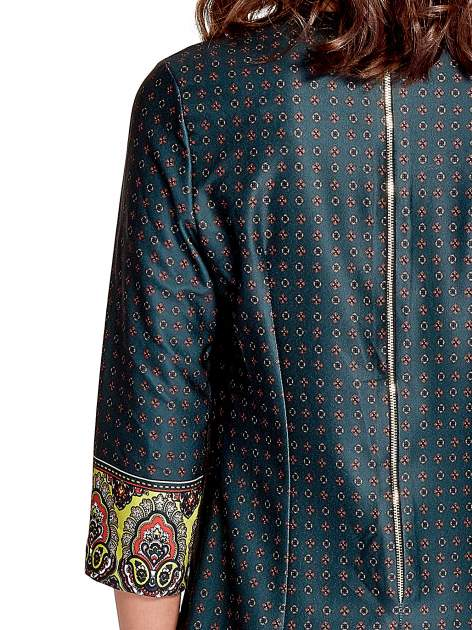 Zielona sukienka w indyjskim stylu                                   zdj.                                  5