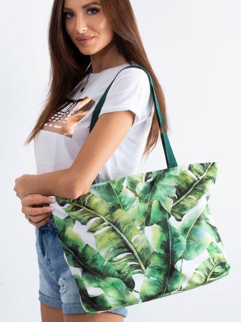 Zielona torba w liście                              zdj.                              1
