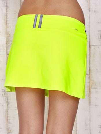 Zielone spodenki spódniczka tenisowa z szarymi wstawkami                                  zdj.                                  7