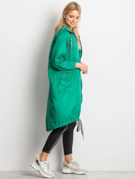Zielony płaszcz Flatscreen                              zdj.                              5