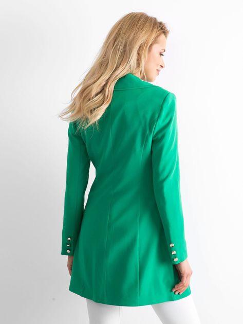 Zielony płaszcz Secret                              zdj.                              2