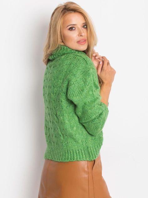 Zielony sweter Heavenly                              zdj.                              3