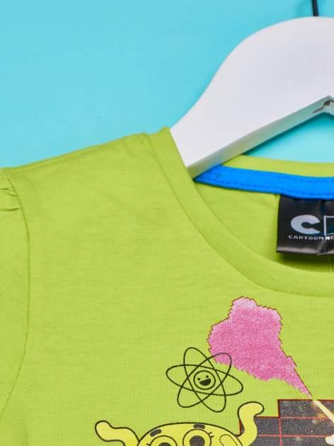 Zielony t-shirt chłopięcy GUMBALL                                  zdj.                                  3