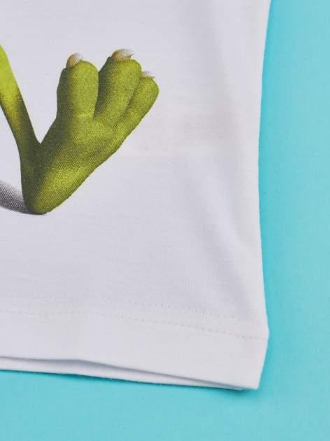 Zielony t-shirt chłopięcy UNIWERSYTET POTWORNY                                  zdj.                                  5