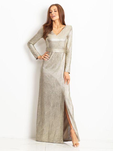 Złota sukienka Wish                              zdj.                              1