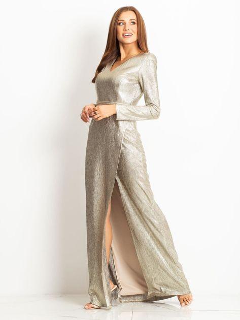 Złota sukienka Wish                              zdj.                              3