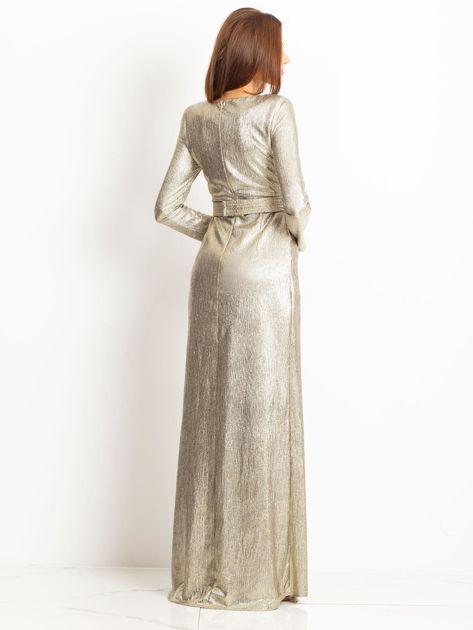 Złota sukienka Wish                              zdj.                              2