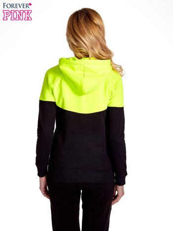 Żółta bluza z czarnym pasem                                  zdj.                                  4