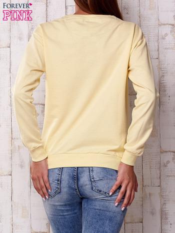 Żółta bluza z napisem NEW YORK CHAMPIONSHIP
