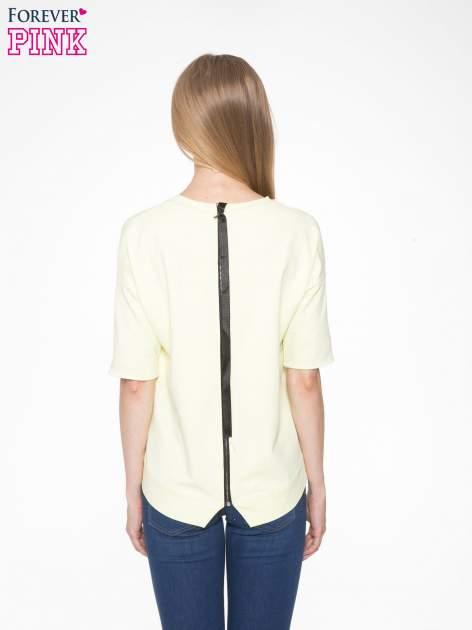 Żółta bluza z suwakiem z tyłu                                  zdj.                                  5