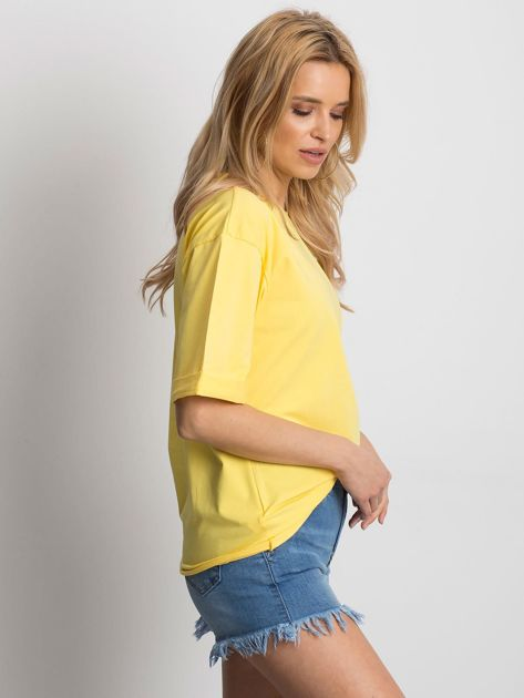 Żółta bluzka Celebration                              zdj.                              3