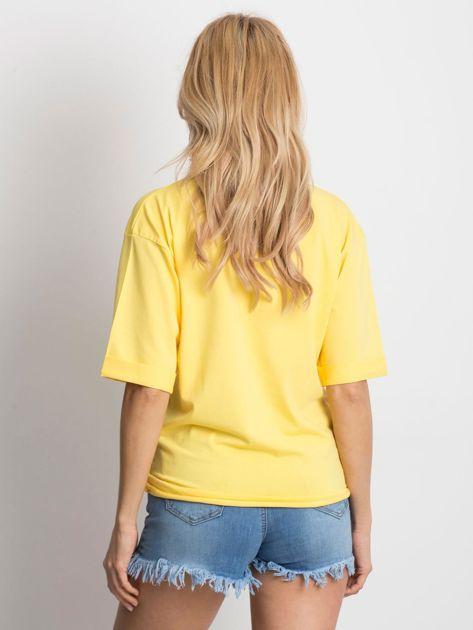 Żółta bluzka Celebration                              zdj.                              2