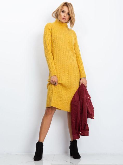 Żółta sukienka Evermore                              zdj.                              5